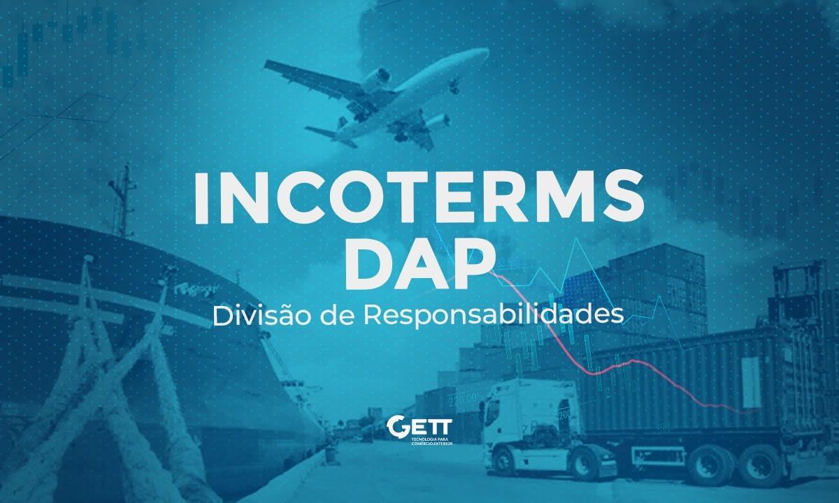 Responsabilidades no Incoterm DAP