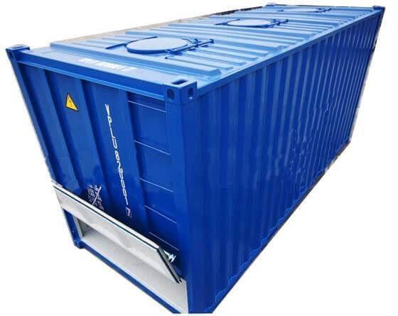 tipos de container graneleiro