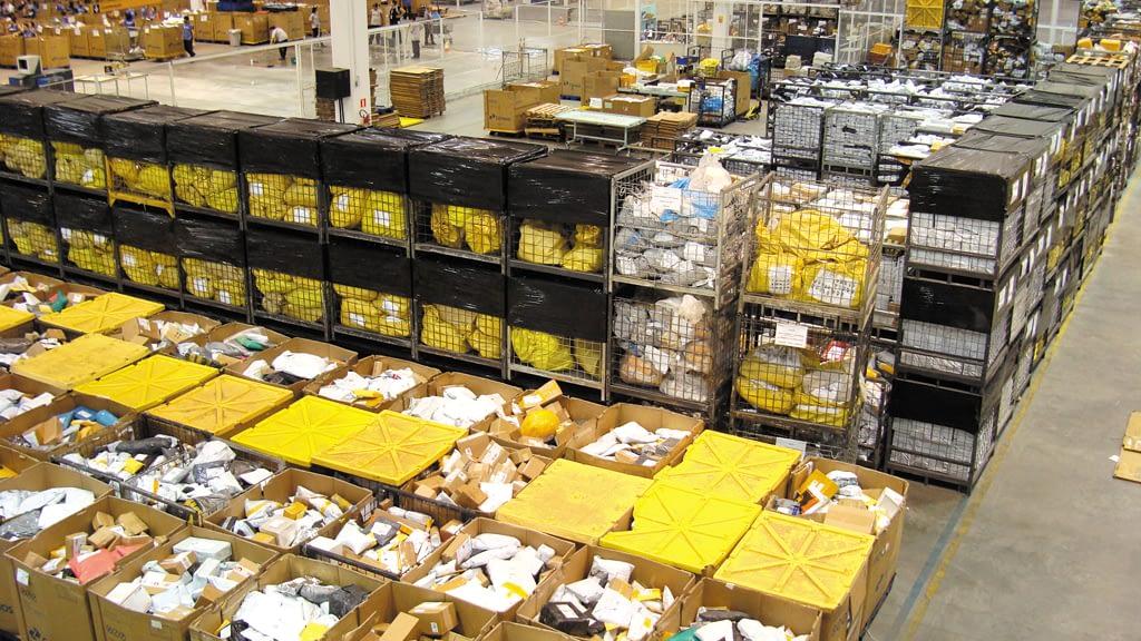 correios curitiba logística internacional