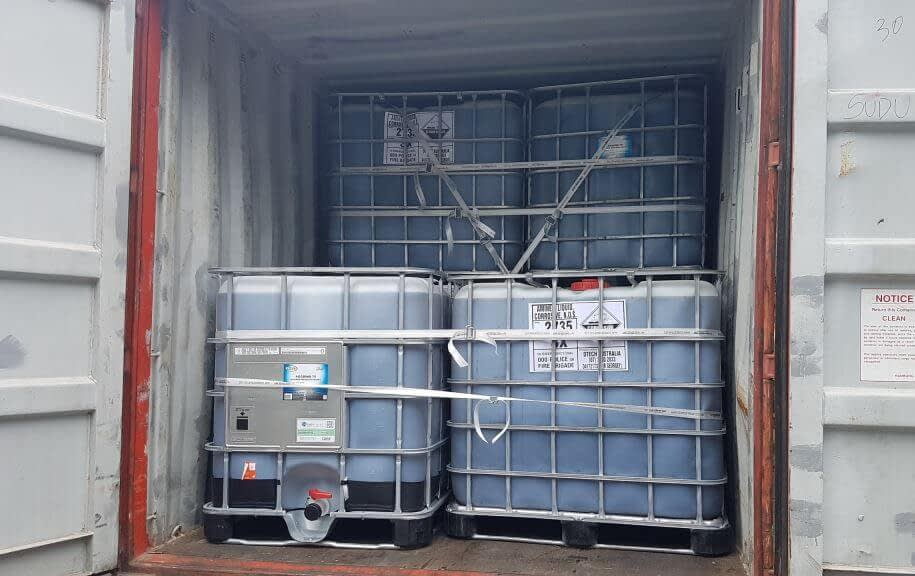 tipos de container ibcs