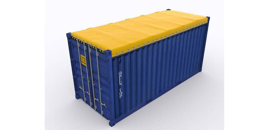 tipos de container ot com lona