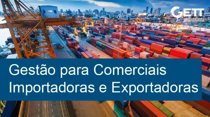 gestão de comerciais importadoras e exportadoras