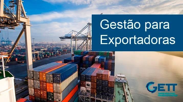 gestão para exportadoras