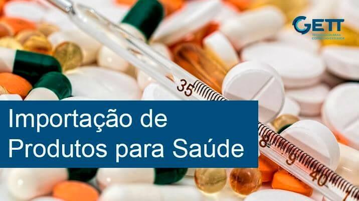 importação para saúde