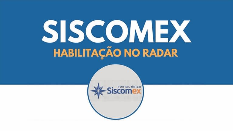 Habilitações no Siscomex